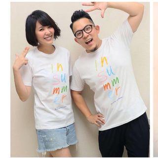 蘇打綠 印夏天 in summer 白色T恤 M號