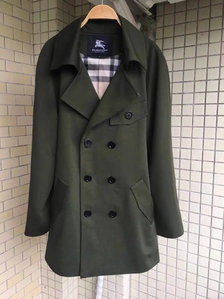 日本三陽 burberry black label黑標軍綠色風衣 超好看❤ 6980 快把握 絕版賣一件少一件喔