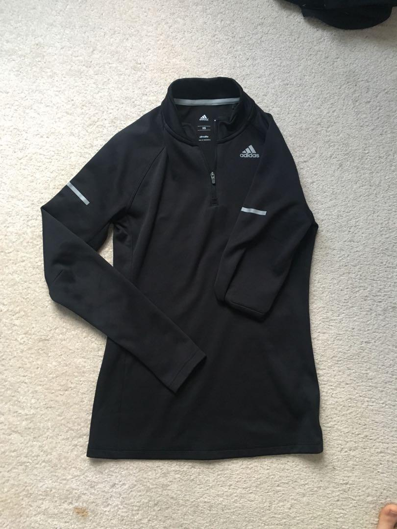 Adidas Black Running Top Sz XS
