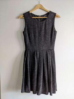 Aritzia Talula Heathered Grey Dress