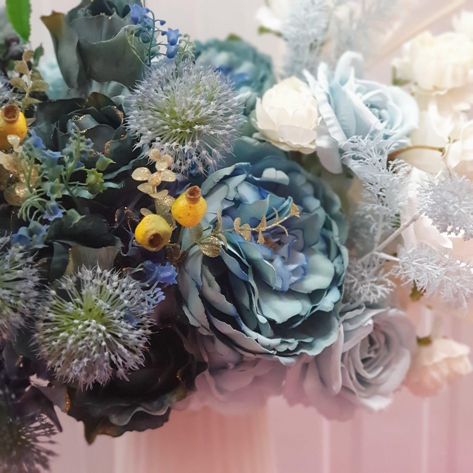 Artificial Flowers Christmas Decoration Home Decoration Gardening Flowers Bouquets On Carousell