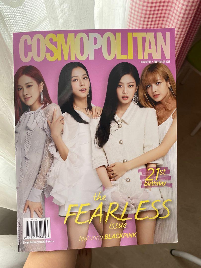 Blackpink magazine cosmopolitan