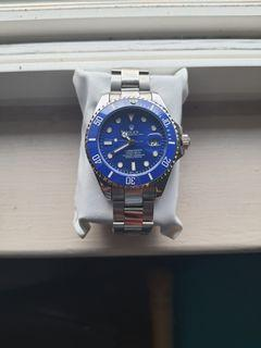 BLUE DIAL SUBMARINER LUXURY WATCH FOR MEN