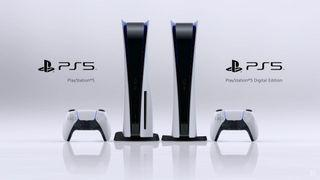 BNIB DIGITAL PS5 AND REG. ED. PS5