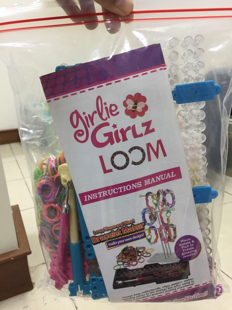 Bracelet Maker - Girlie Girlz Loom