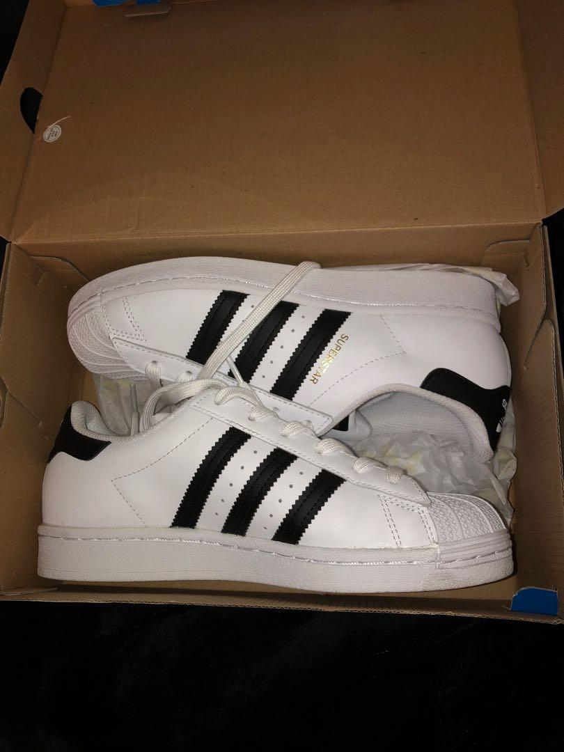 Brand new women's adidas black and white