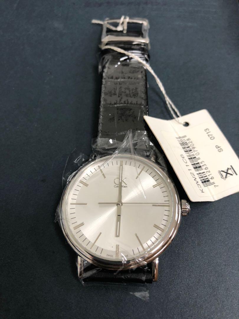 CalCalvin Klein vin Klein CK 送禮首選-品味優雅紳士錶(K3W211C1-K3W211C6)