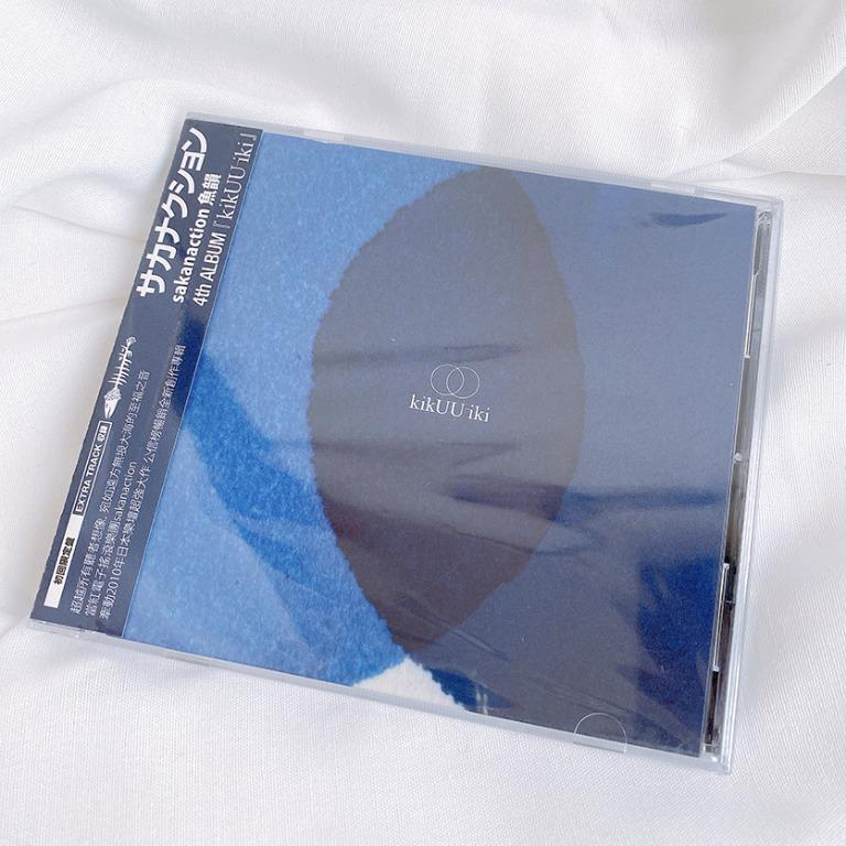 平常小姐┃全新未拆封┃滾石正版CD 日本樂團【sakanaction魚韻 kikUUiki 汽空域】初回限定盤