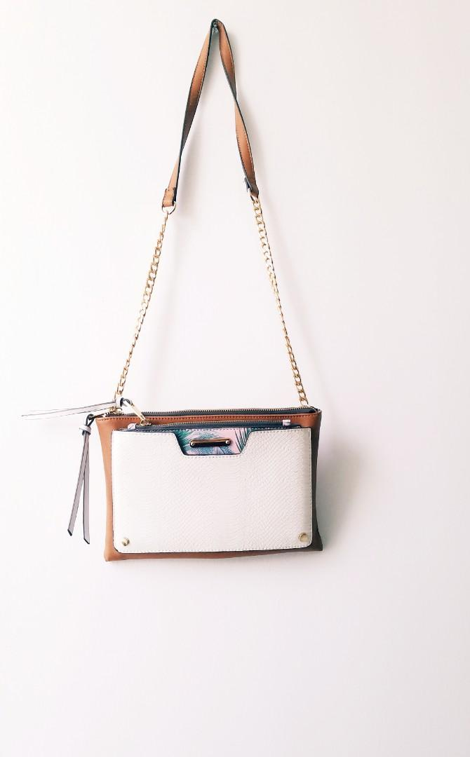 Crossbody and Pouch Multi Pocket Bag