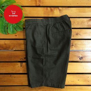 DETAILS Short Pants (OLIVE, SIZE L)