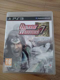 DYNASTY WARRIORS 7 PS3-R2