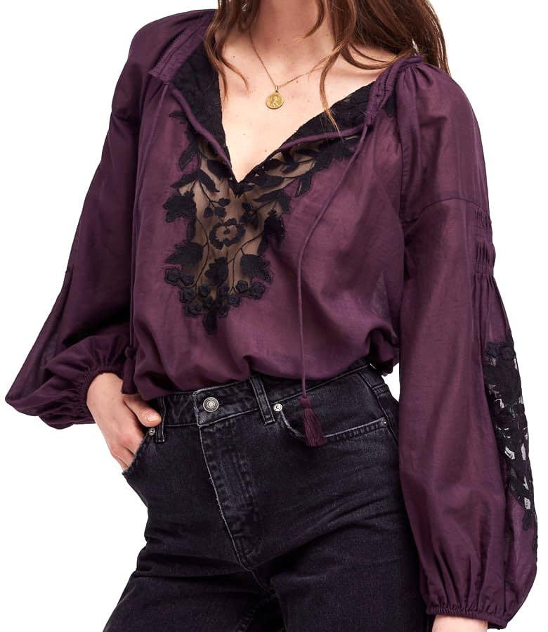 Free People Shimla Top