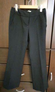 G2000 黑色西裝褲  低腰