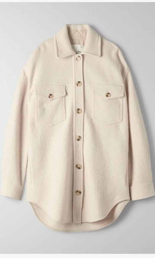 Ganna Jacket Heather Bone (XS)