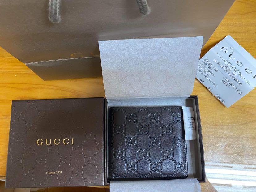 Gucci 短夾 9.9新