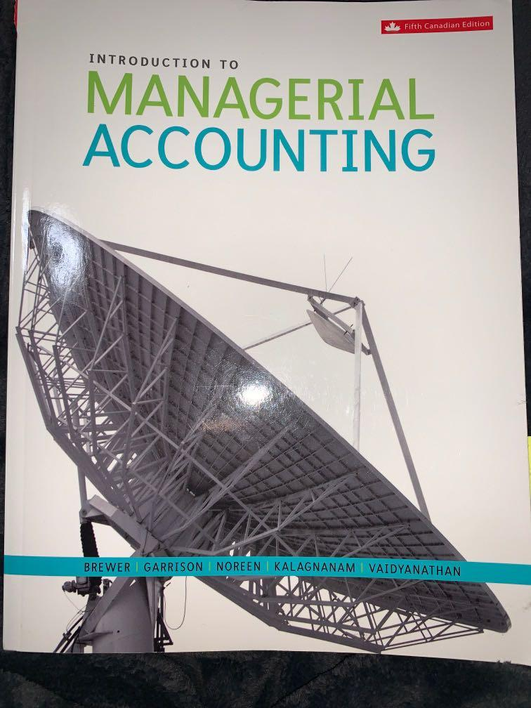 Introduction to Managerial Accounting  FIFTH EDITION