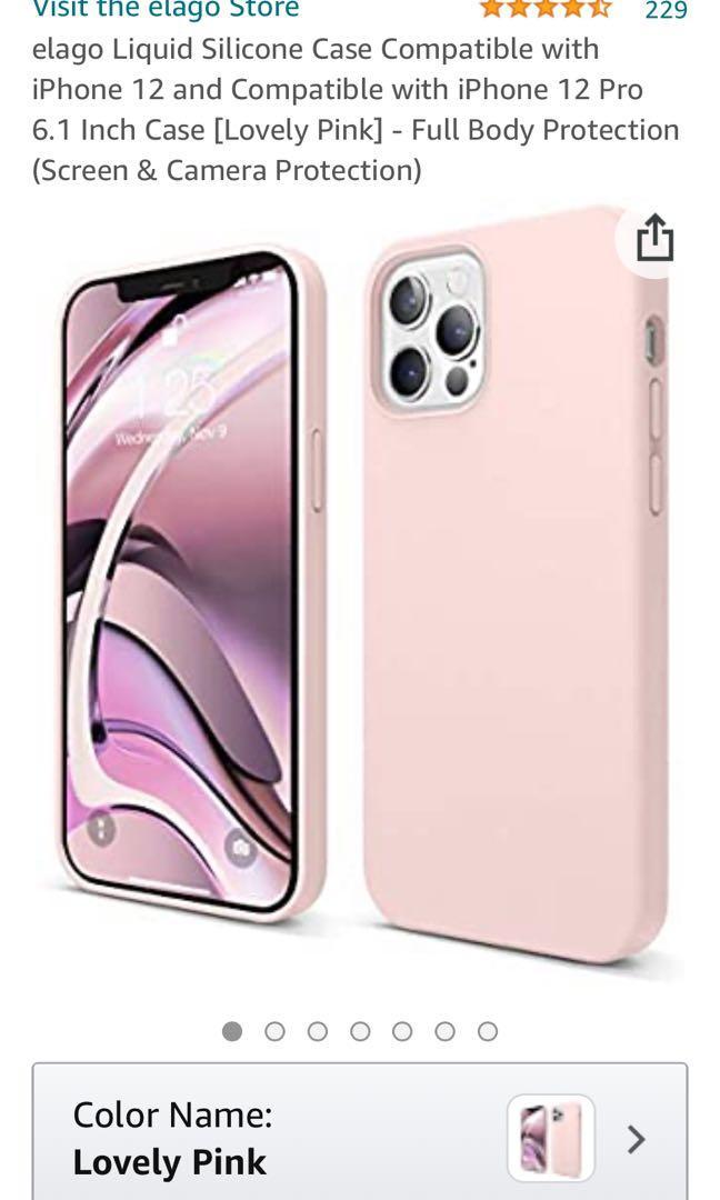 iPhone 12 pro case liquid silicone