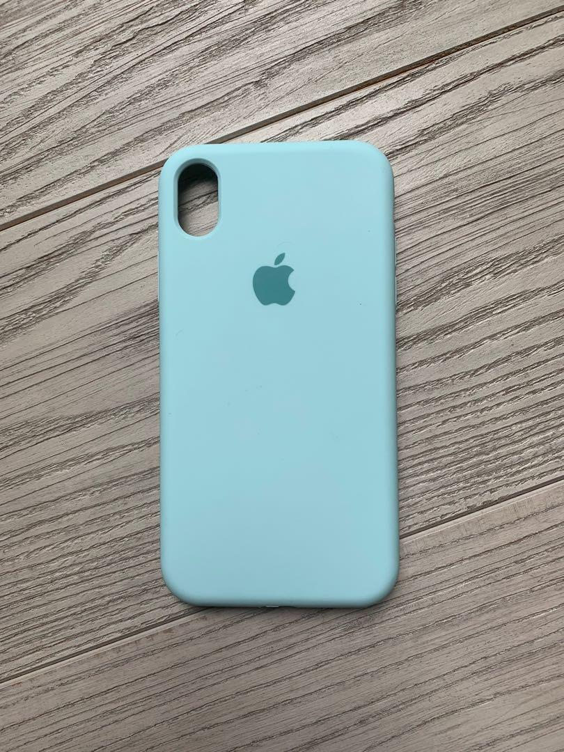 light blue silicone iphone xr