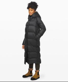 Lululemon down winter jacket