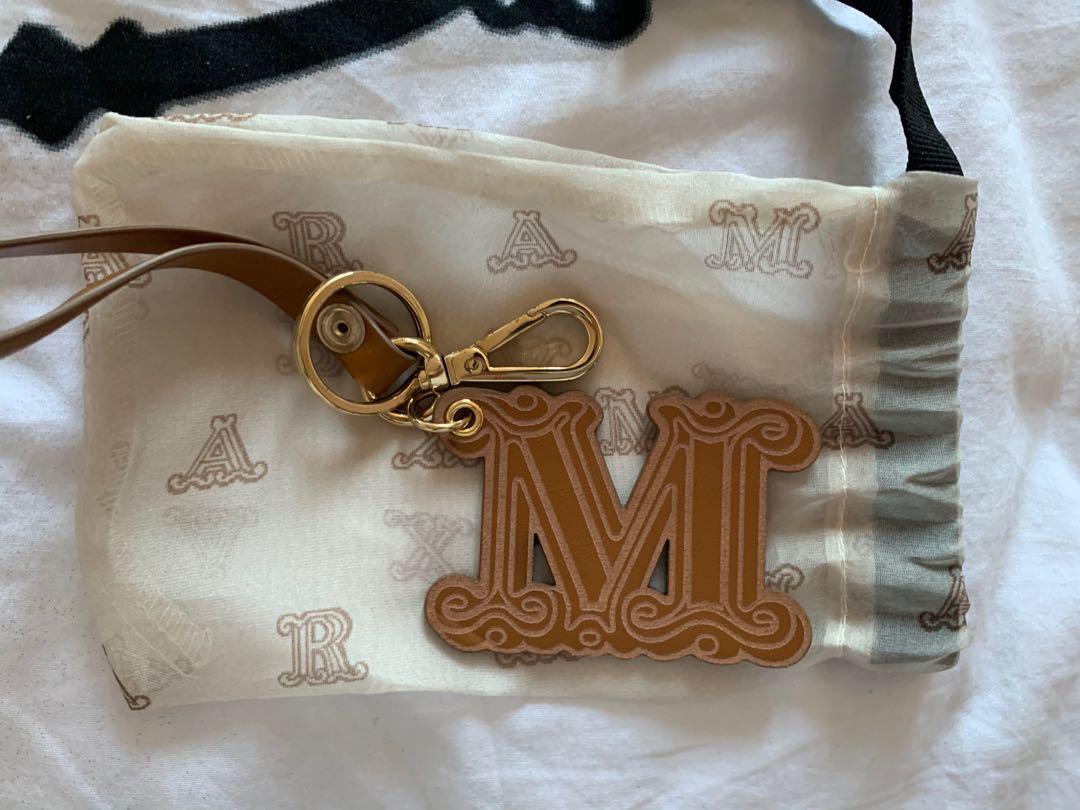 Max Mara Leather Keychain
