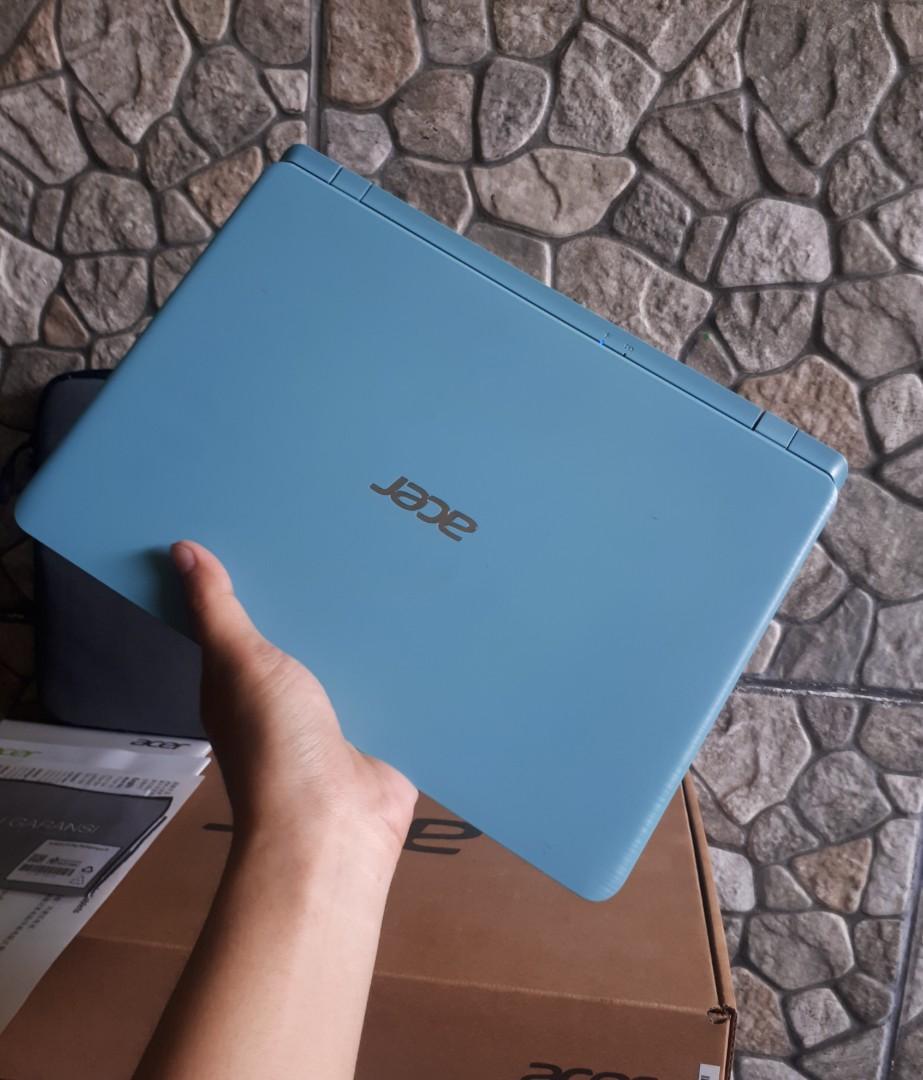 Netbook Acer Torquise Blue A311 fullset segel