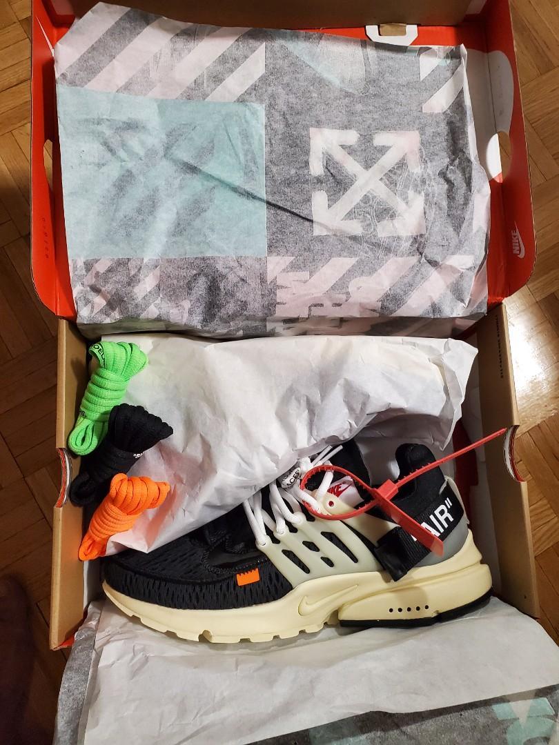 Nike Air Off White Presto (NEW) size10