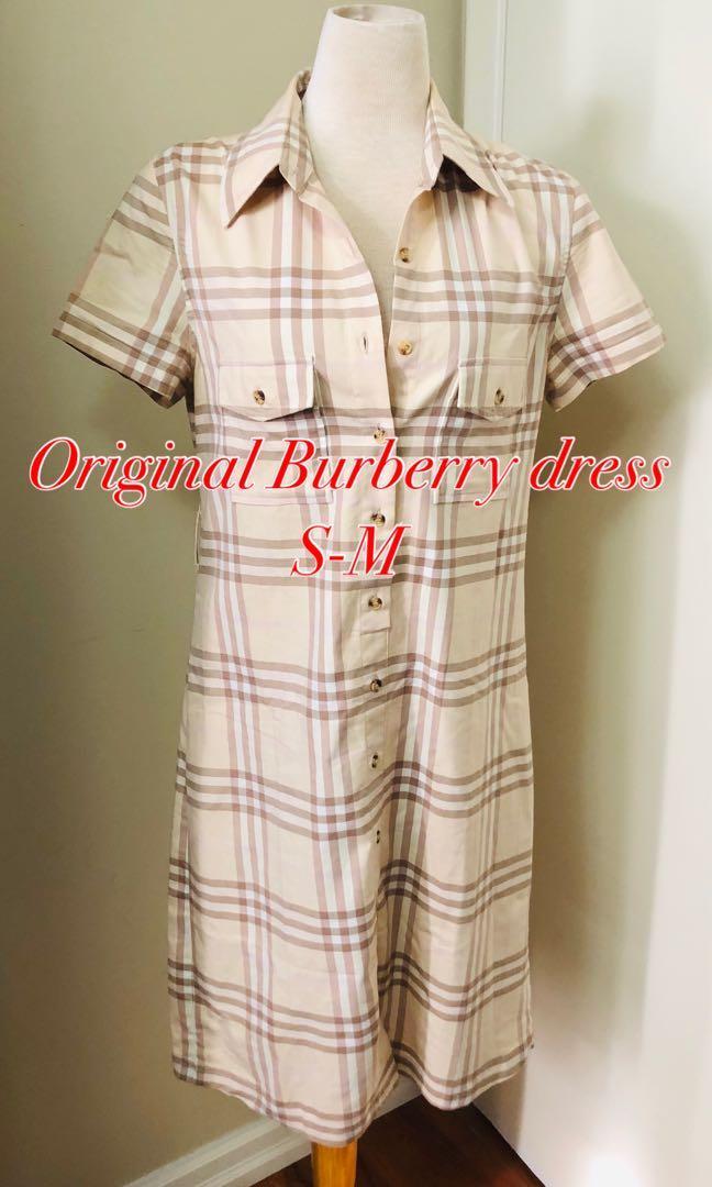 Original Burberry dress