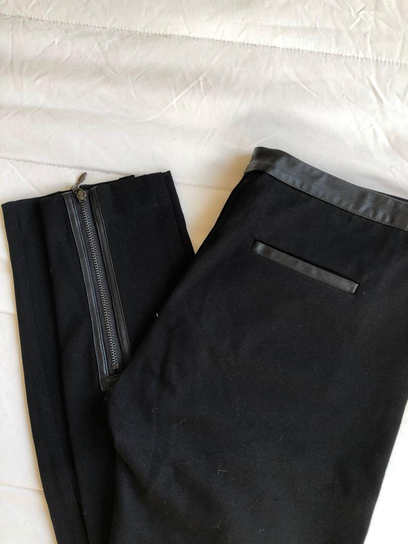 Paige Black Leggings / Pants