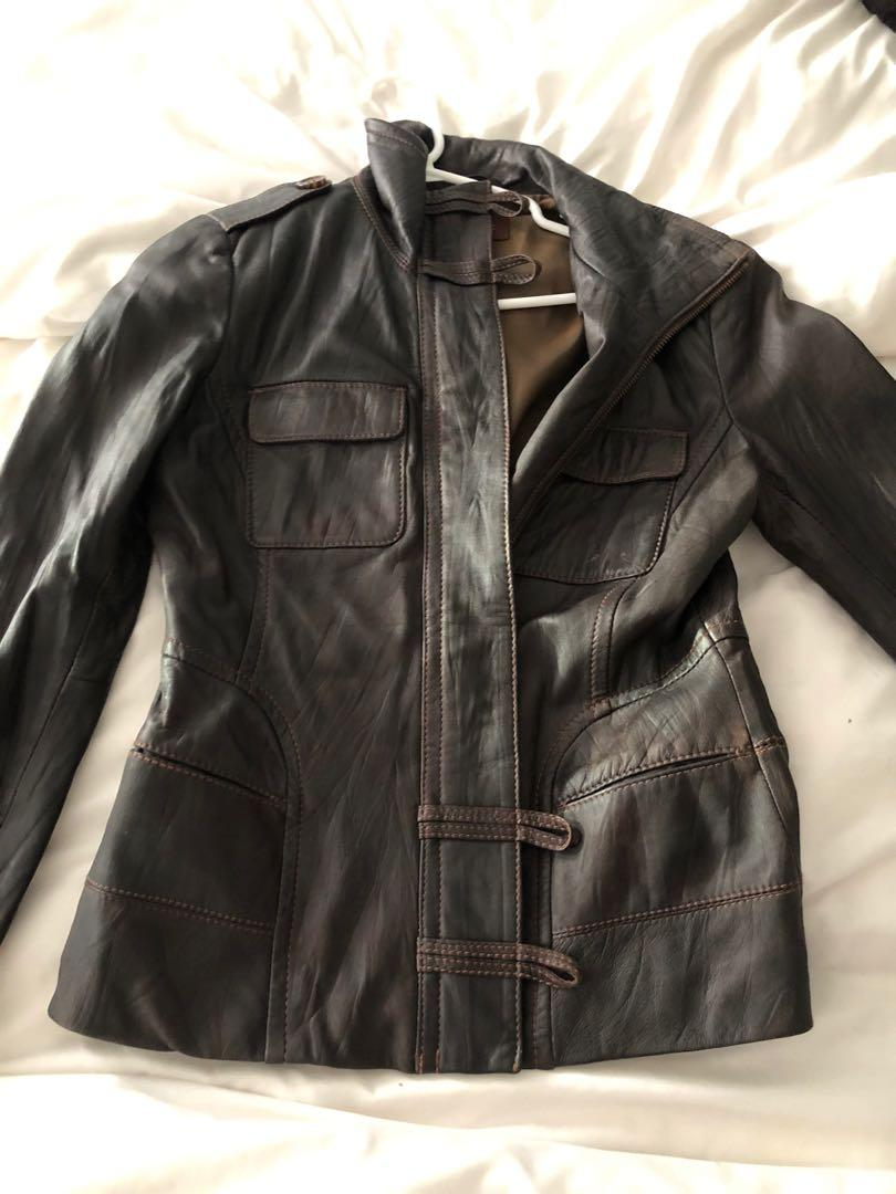 Real Leather Danier Jacket