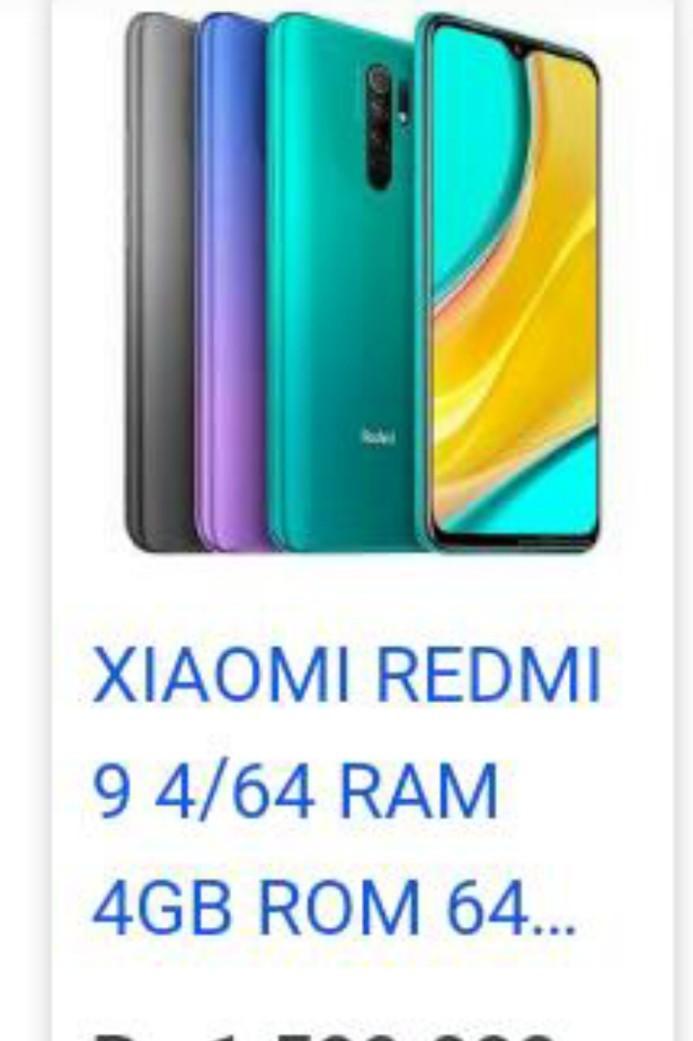 Redmi 9 ram 4/64 Gb neww