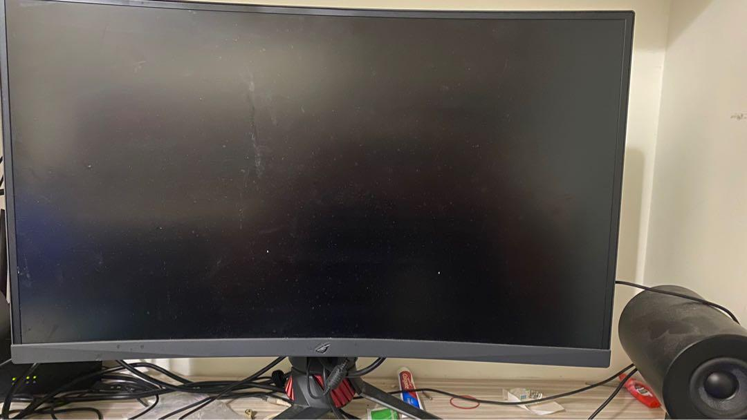 ROG XG27VQ 27吋曲面螢幕