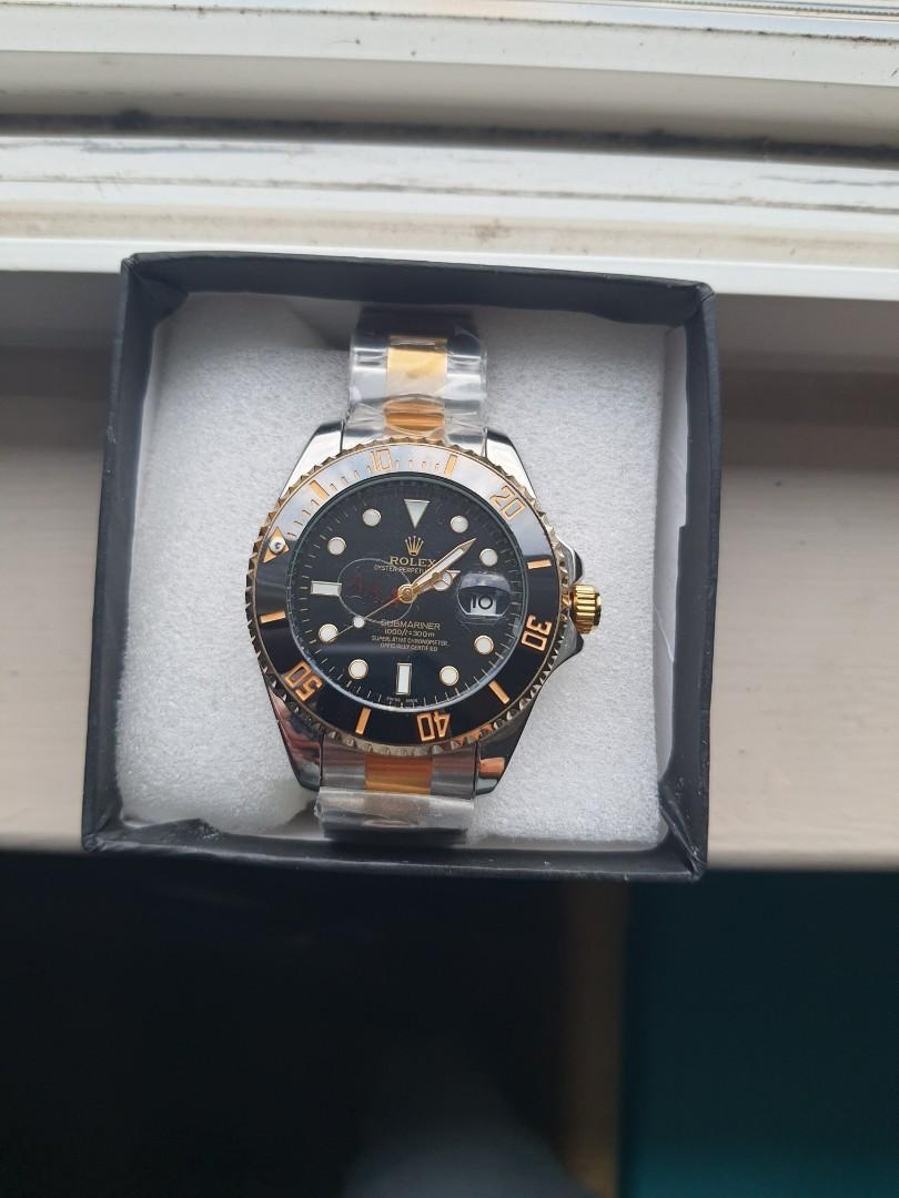 SUBMARINER BLACK DIAL LUXURY WATCH FOR MEN