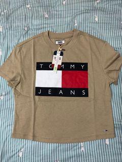 Tommy Hilfiger 卡奇色 土色 T-shirt