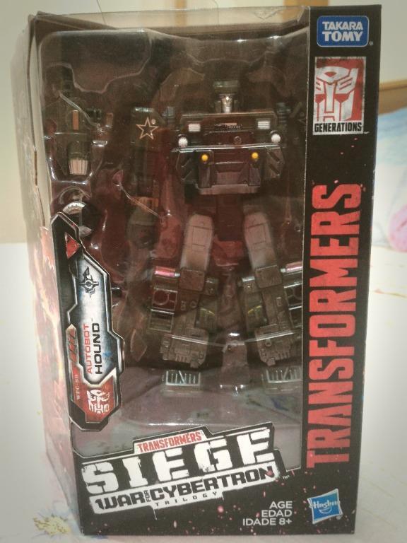 Transformers - Hound - Siege War for Cybertron