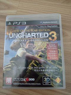 UNCHARTED 3 PS3-R3