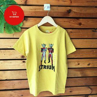 UNIQLO Kaos Anak Ultraman Yellow