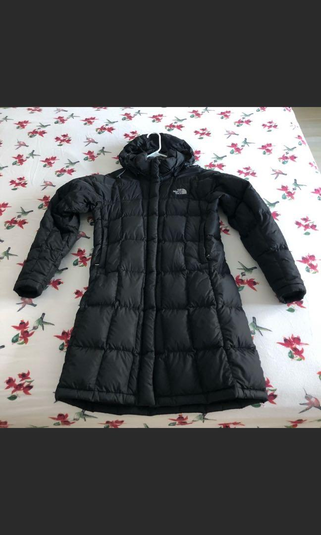 Women's north face parka