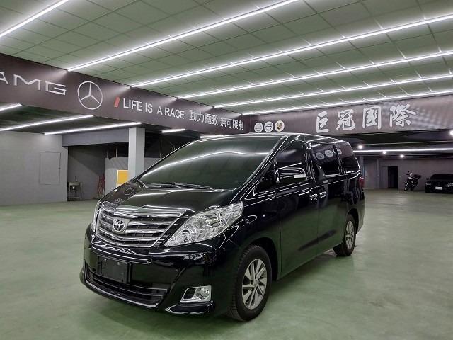 2012年 豐田 ALPHARD 3.5 旗艦七人座 零頭款交車 可全額貸款