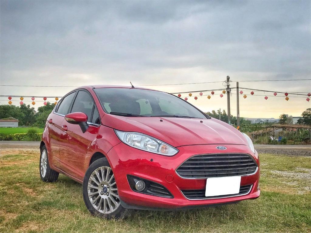 2015 Ford Fiesta 1.0 紅 配合全額貸、找 錢超額貸 FB搜尋 : 『阿文の圓夢車坊』