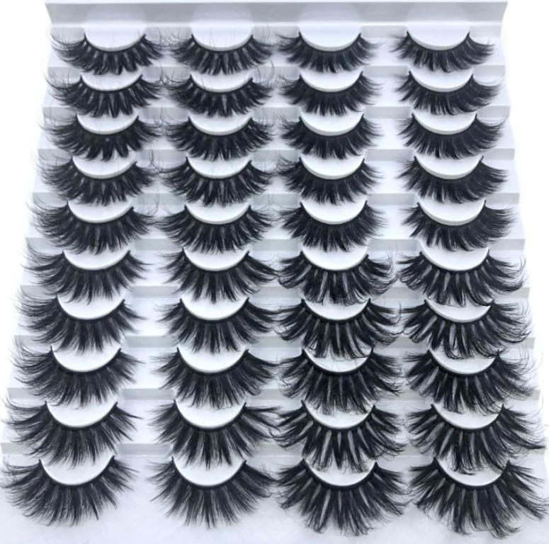 20 pairs Faux Mink Lashes - Fierce