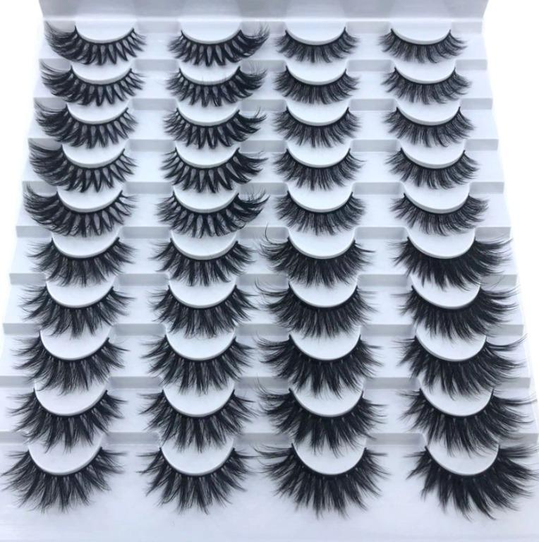20 pairs Faux Mink Lashes - Luscious