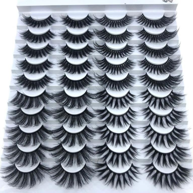 20 pairs Faux Mink Lashes - Wispy