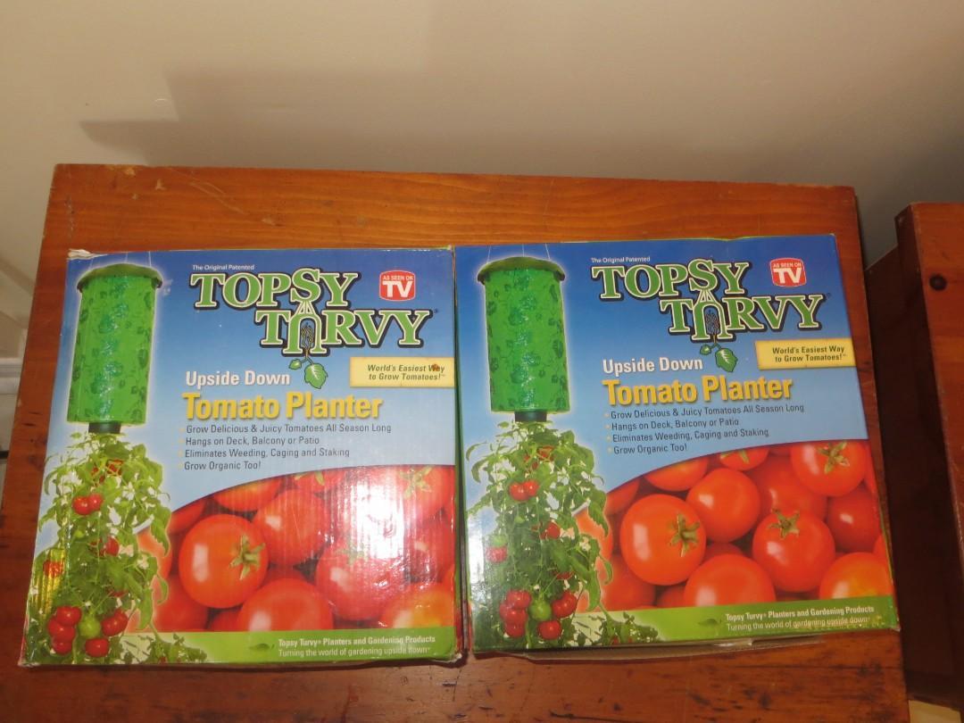 2 Upside Down Tomato Planters