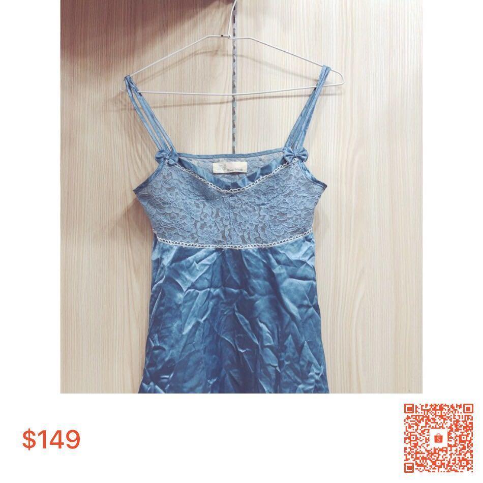 ❤️藍色睡衣❤️👉一套系列👈