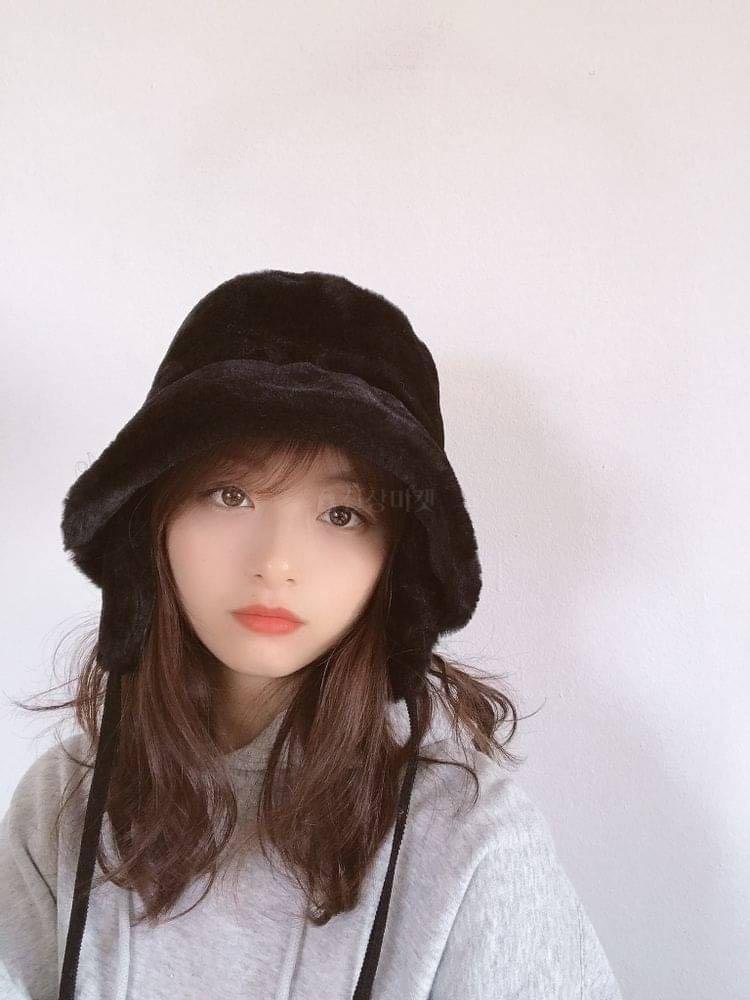 #正韓飾品  奢華皮草護耳圓帽