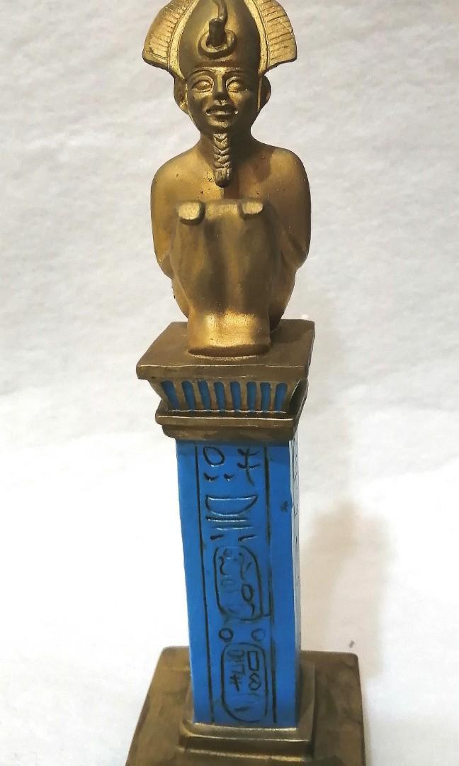 古埃及 神話 奧里西斯 冥王  神像 老古董 雕像