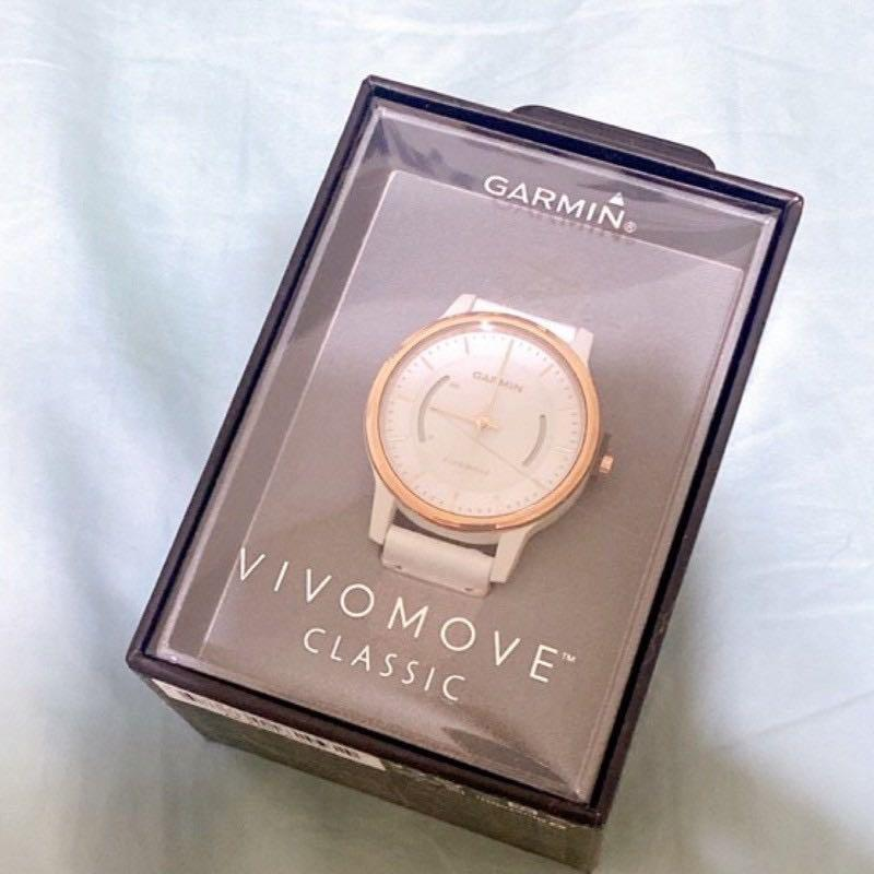 全新 GARMIN Vivomove classic 智慧指針式手錶