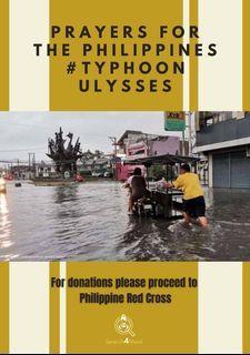 菲律賓颱風 typhoonulyssesPH has destroyed