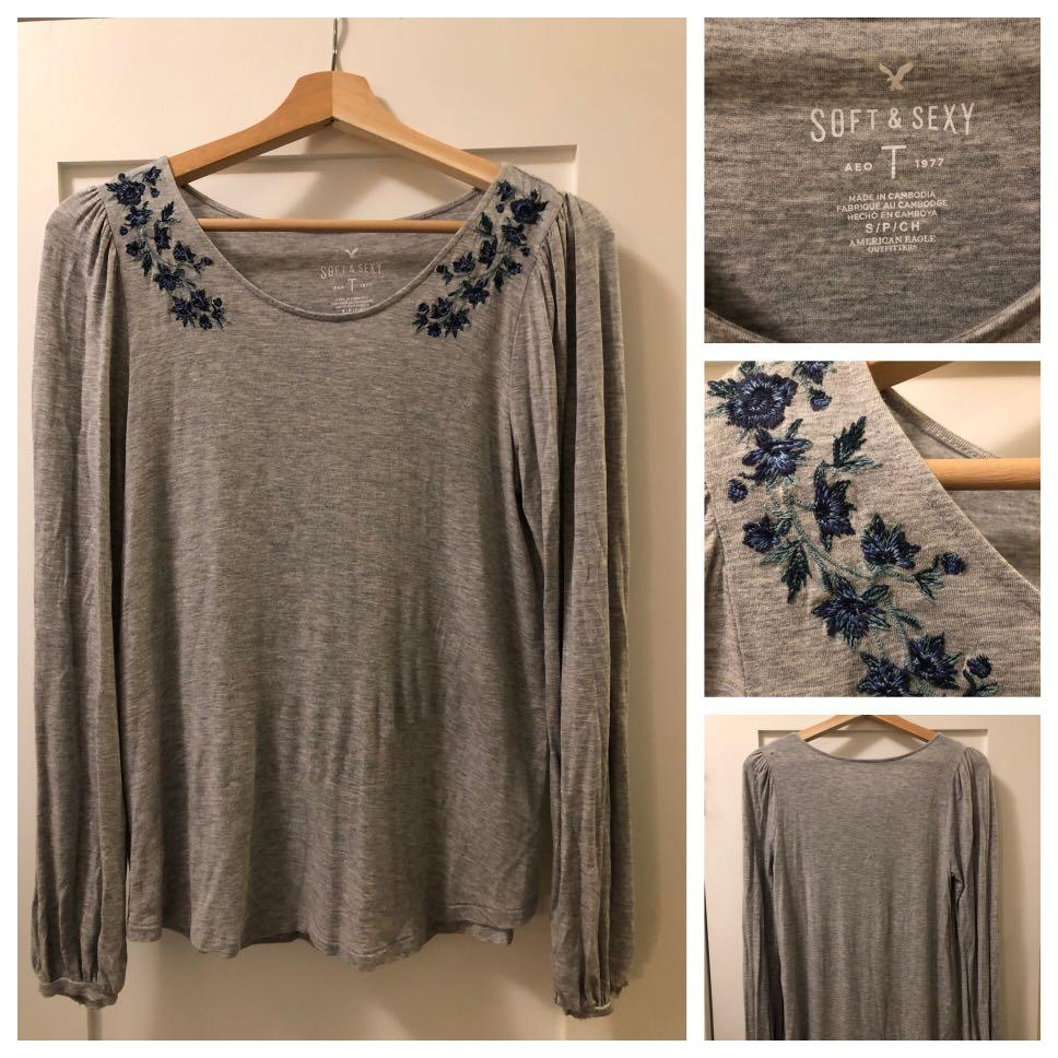 Aerie Soft & Sexy Long Sleeve