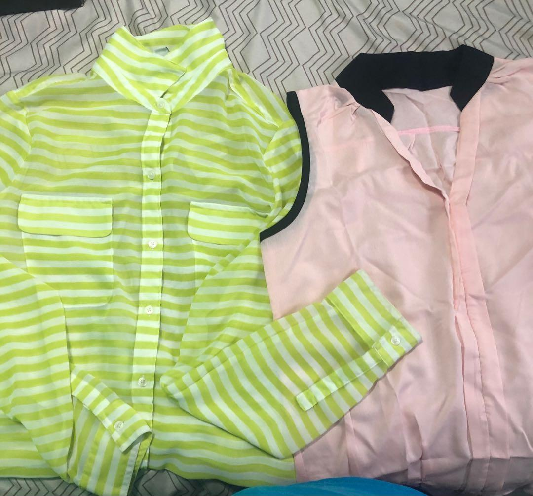 All blouses $2 each